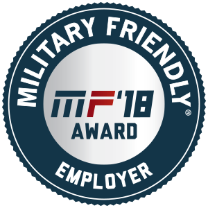 2017 Top 10 Military Friendly Employer