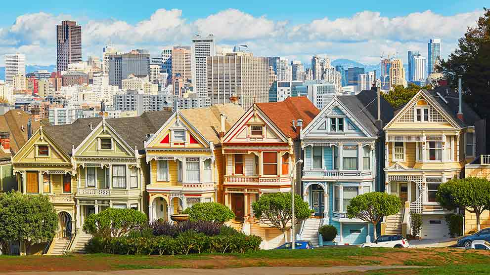 san francisco housing market skyline
